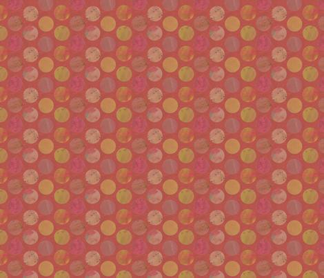 Fishy Dots fabric by beckarahn on Spoonflower - custom fabric