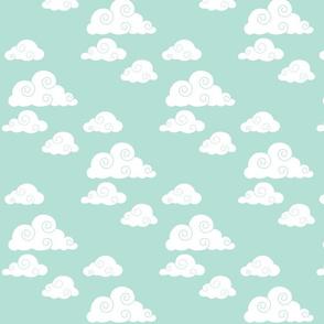 clouds // mint