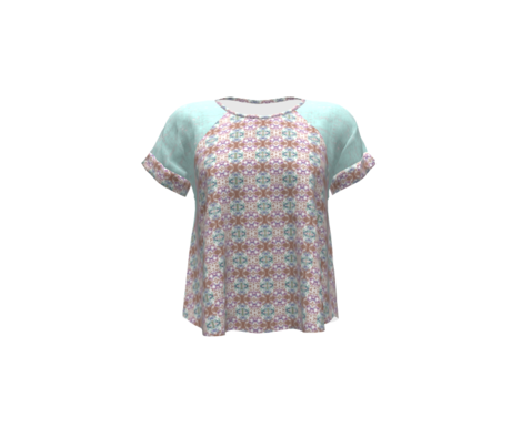 Aqua tweed texture