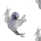 Expressionist bird - Light