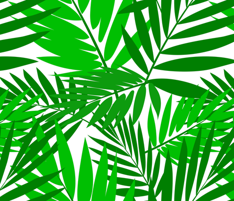 Palms fabric by madtropic on Spoonflower - custom fabric
