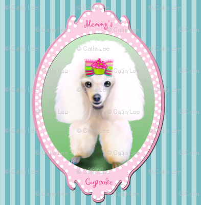 Mommy's Cupcake Poodle Large