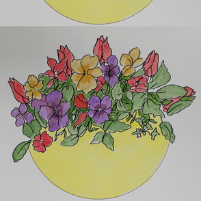 Pansies_and_Tulips
