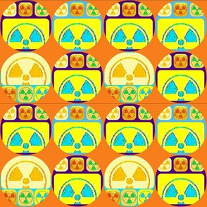 little bright martian faces