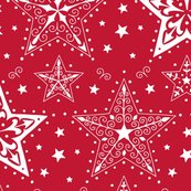 Rpatterned_christmas_stars_red_and_white_hazel_fisher_creations_shop_thumb