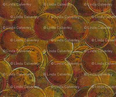 One Penny Fabric