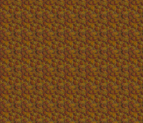 One Penny Fabric fabric by linsart on Spoonflower - custom fabric