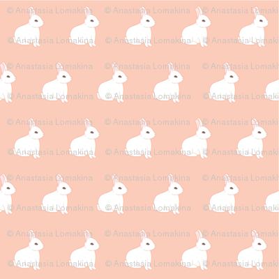 Bunnies on pink
