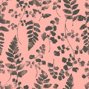 Watercolour Ferns Candy