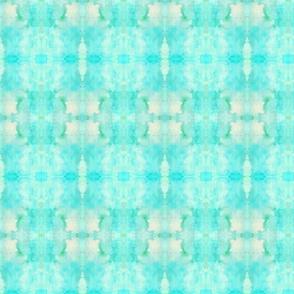 Tie Dye Whimsy Turquoise Violas