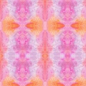 Tie Dye Whimsy Lotus