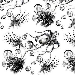 Deep Sea Tattoo- White