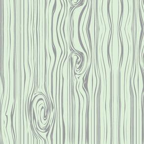 woodgrain // cucumber & grey