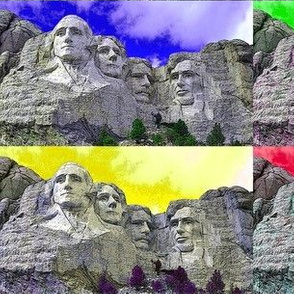 Dean's Wild Skies Over Mount Rushmore