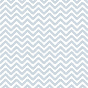 Blue Crayon Chevron