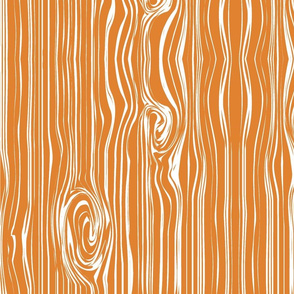 woodgrain // orange