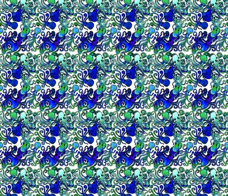 7OCTOPUSREPEATED fabric by gemma_elliott on Spoonflower - custom fabric