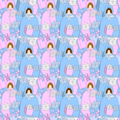 Sweet Terra Babies Fabric  fabric by lworiginals on Spoonflower - custom fabric