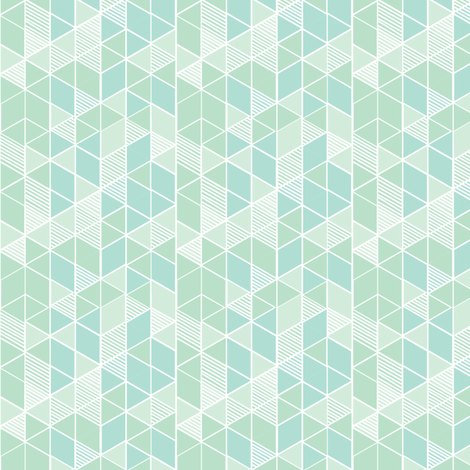 Gems: Seaglass fabric by penina on Spoonflower - custom fabric