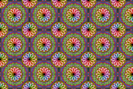 "Time 6"" x 6"" fabric by stradling_designs on Spoonflower - custom fabric"