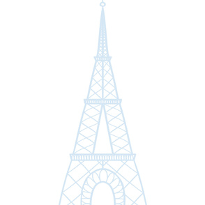 Simple Eiffel Tower - Blue