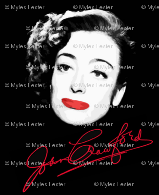 Signature Joan Crawford