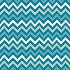 Dark Blue Chevron- Anchors Coordinate