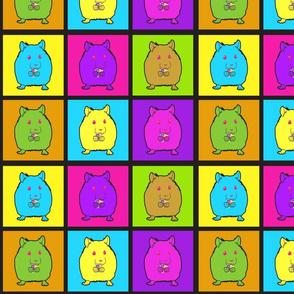 Neon Hamsters