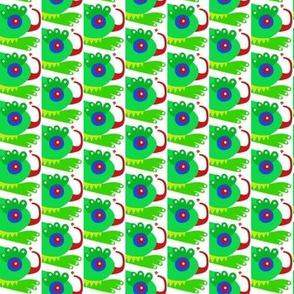 Iguana Catching Flies