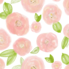 Baby Pink Posies - Giant
