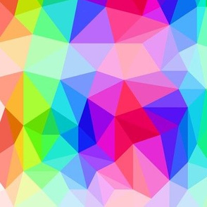 Low Poly Rainbow