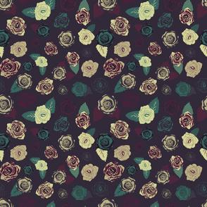 I smell vintage roses