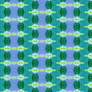 blue green beads