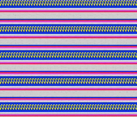 mexi_stripe fabric by holli_zollinger on Spoonflower - custom fabric
