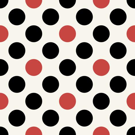 Dots on a hot tin roof! by Su_G fabric by su_g on Spoonflower - custom fabric