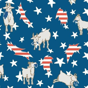 Star Spangled Goats