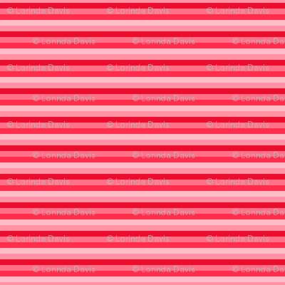 Stripes: Strawberry