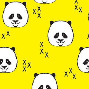 Pandas // yellow
