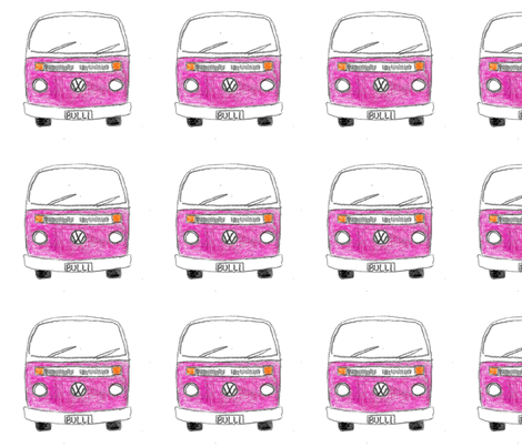 Purple Kombi fabric by blue_jacaranda on Spoonflower - custom fabric