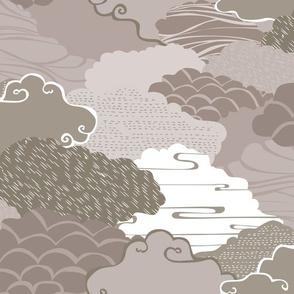 Clouds in Grey