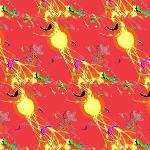 Bat Bright 4 - Red Zap