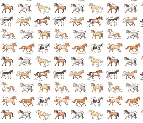 Horses_150_hazel_fisher_creations_shop_preview