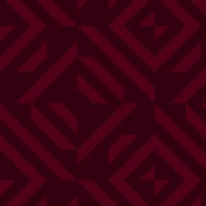 dark red maroon tribal pattern invert