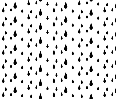 Drops fabric by tycdesignco on Spoonflower - custom fabric
