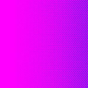 Dean's Pink & Blue Halftone Border Print