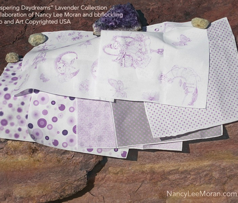Delightful Dots to Match Lavender Whispering Daydreams