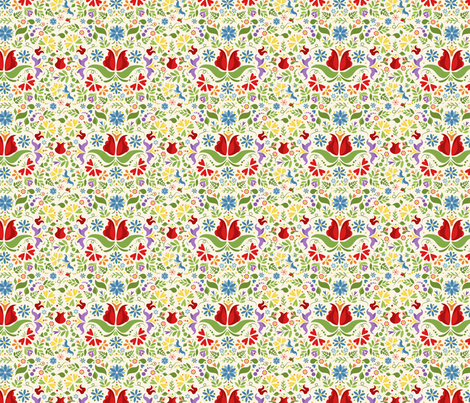 Floral Dreams fabric by calobeedoodles on Spoonflower - custom fabric
