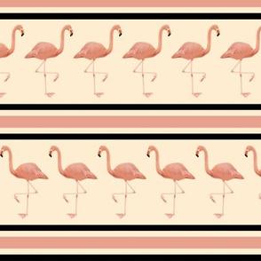 Flamingo Stripe