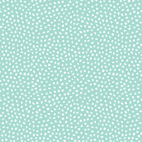 *NEW* confetti mint white  // by petite_circus // kids baby cute nursery coordinate fabric by petite_circus on Spoonflower - custom fabric