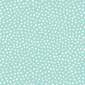 *NEW* confetti mint white  // by petite_circus // kids baby cute nursery coordinate